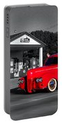 Cruising Route 66 Dwight Il Selective Coloring Digital Art Portable Battery Charger