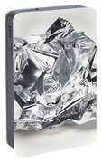 Crumpled Aluminum Foil Portable Battery Charger