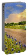 Crusin' The Hill Country In Spring Portable Battery Charger