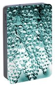 Crystal Blue Portable Battery Charger