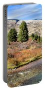 Crystal Creek In The Gros Ventre Portable Battery Charger