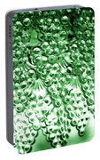 Crystal Green Portable Battery Charger