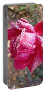 Crystal Rose Portable Battery Charger