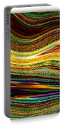 Crystal Waves Abstract 1 Portable Battery Charger