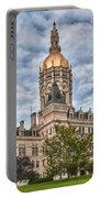 Ct State Capitol Building Portable Battery Charger
