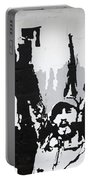 Cuban Revolution Painted On A Wall Portable Battery Charger