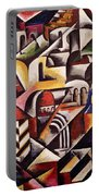 Cubist Cityscape, 1914 Portable Battery Charger