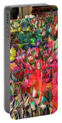 Tulips Of Many Colors - Nyc Markets Portable Battery Charger