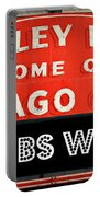 Cubs Win - Wrigley Sign Portable Battery Charger