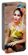 Culture Girl Portable Battery Charger