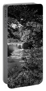 Cumberland Falls Black And White Portable Battery Charger