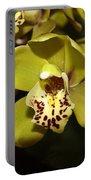 Cumbidium Orchid Portable Battery Charger