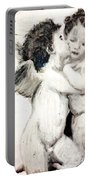 Cupid And Psyche By William Bouguereau Portable Battery Charger