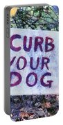 Curb Your Dog Portable Battery Charger