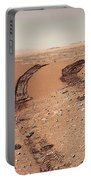 Curiosity Tracks Under The Sun In Mars Portable Battery Charger