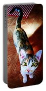 Curious Kitty Portable Battery Charger