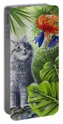 Curious Kiwi Portable Battery Charger by Carolyn Steele