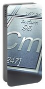 Curium Chemical Element Portable Battery Charger