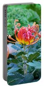 Curly Flowers Portable Battery Charger