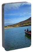 Curragh Moored At Dooega Village Portable Battery Charger