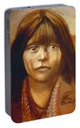 Curtis Indian Girl Portable Battery Charger