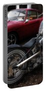 Custom Bike And Porsche Portable Battery Charger