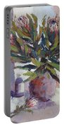 Cut Proteas Portable Battery Charger