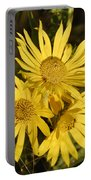 Cutleaf Daisy Portable Battery Charger