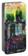 Cutout Art City Optimist Portable Battery Charger