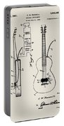 Cw Russell Acoustic Electric Guitar Patent 1939 Portable Battery Charger