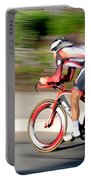 Cyclist Time Trial Portable Battery Charger