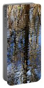 Cypress Reflection Nature Abstract Portable Battery Charger by Carol Groenen