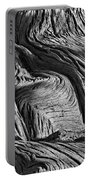 Cypress Tree Abstract Portable Battery Charger