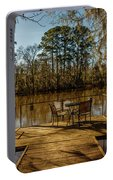 Cypress Trees At Caddo Lake State Park Portable Battery Charger