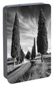 Cypress Trees - Tuscany Portable Battery Charger