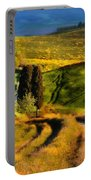 Cypresses Of Toscany Portable Battery Charger