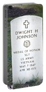 D. H. Johnson - Medal Of Honor Portable Battery Charger
