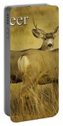 D Is For Deer Portable Battery Charger