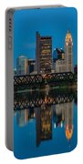 D2l64 Columbus Ohio Skyline Portable Battery Charger