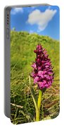 Dactylorhiza Orchid Portable Battery Charger