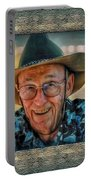 Dad In Cowboy Mood Portable Battery Charger