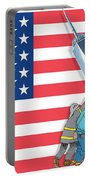 Daddys Home 9/11 Tribute Portable Battery Charger