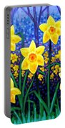 Daffodil Dance Portable Battery Charger