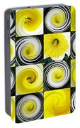 Daffodil Spring Mosaic Portable Battery Charger
