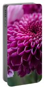 Dahlia And Mums Portable Battery Charger