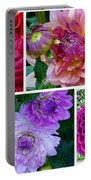 Dahlia Best Collage Portable Battery Charger
