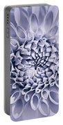 Dahlia Flower Star Burst Purple Portable Battery Charger