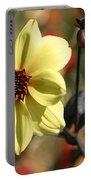 Dahlia Knockout Portable Battery Charger