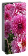 Dahlia Named Lucky Number Portable Battery Charger