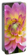 Dahlia Speak To Me In Pink Portable Battery Charger